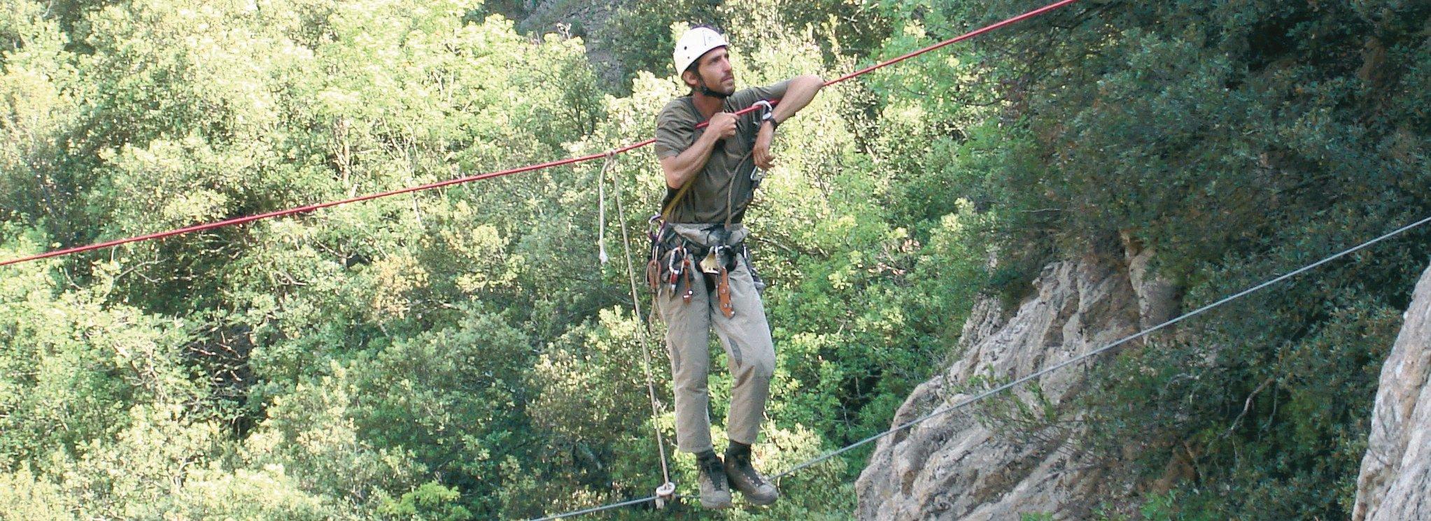 Bart RAYMAKERS - Parcours aventure, Réserve naturelle de Nohèdes